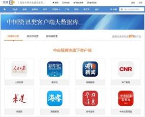 中国资讯类客户端大数据 全国新闻APP超1300个
