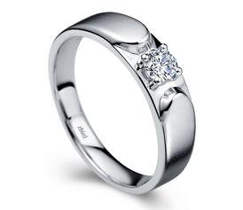优雅风度 耀 在指间 钻石小鸟打造绅士的钻石法则