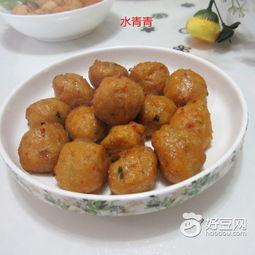 ...胡萝卜猪肉丸子怎么做好吃,炸胡萝卜猪肉丸子的家常做法 水青青