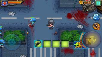 以僵尸为题材的俯视角经典的射击游戏 狙击僵尸 城市危机