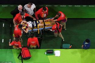 法国跳马运动员落地骨折 视频