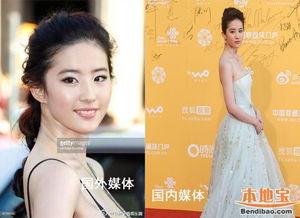 ...媒镜头下的中国明星无ps照对比 组图