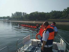 图文 漯河市地方海事局为市第一届龙舟赛活动保驾护航