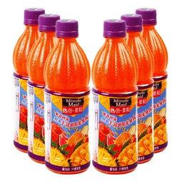 琥源-美汁源热带果粒 450ml 6连包–我买网