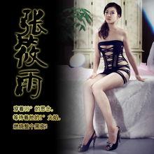正品张筱雨情趣时代性爱保鲜秘笈情趣性感网纱紧身塑身式内衣促销