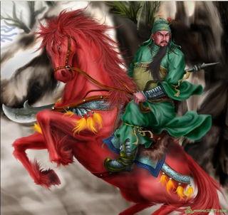 不是问题,看过三国演义的都知道,关羽是忠义的化身,为了刘备,他...