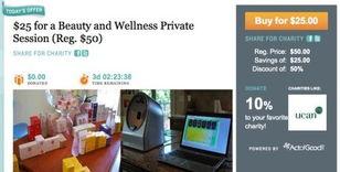 e Give to Get(WGTG)仅在芝加哥提供服务,每天提供一项新交易(...