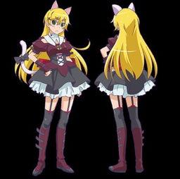 美人的标配 盘点动画中金色长直发的美少女