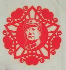 伟人毛泽东 艺术剪纸图片