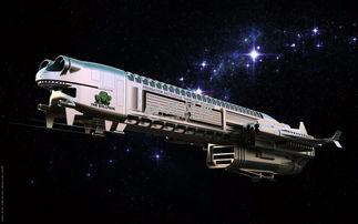 宇宙飞船模型图