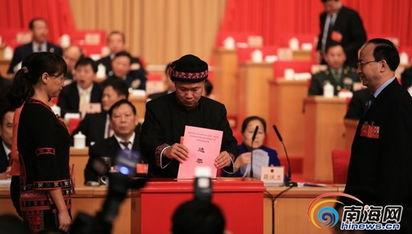 议补选李世珍、李谷建为海南省第五届人民代表大会常务委员会