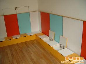 幼儿园室内环境布置图片 活动室拐角1 幼儿园活动室布置图片