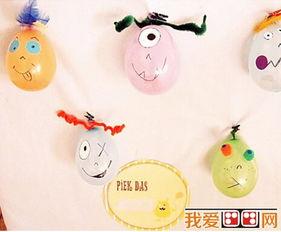 有趣的气球怪公仔DIY教程 2