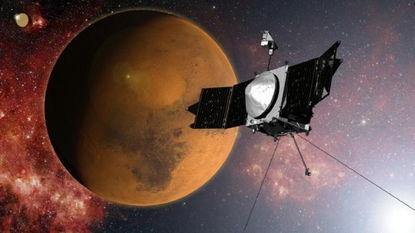 ...化任务探测器(MAVEN)成功进入火星轨道,将对火星高层大气进...