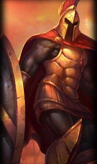 LOL战争之王潘森普通皮肤 斯巴达之魂 英雄联盟皮肤站