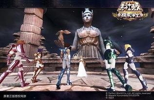 最终圣战开启,女神雅典娜和集结完毕的圣斗士军团-五小强变身终结...