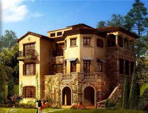 10万国内最流行的新农村小别墅设计效果图