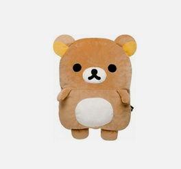 ...简直是让人没有理由不想抱一抱.因为体积比较大,这只轻松小熊能...