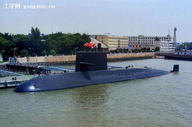 中国新版039B潜艇细节曝光