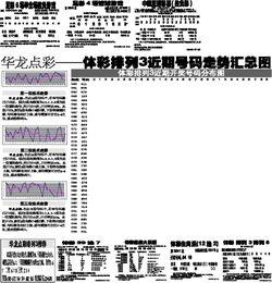中国足球彩票(胜负彩)-华龙点彩 体彩排列3近期号码走势汇总图