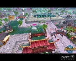 万灵城实景鸟瞰图-神仙传 独创成长模式 玩家可改变环境