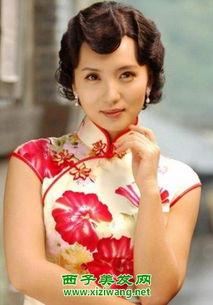 短发新娘旗袍造型,超好看中式新娘发型