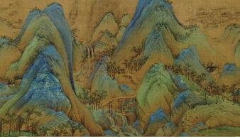 ...国十大传世名画之一 千里江山图