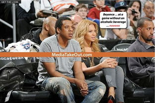 篮网小老板携碧昂斯看比赛 粉碎将离婚流言