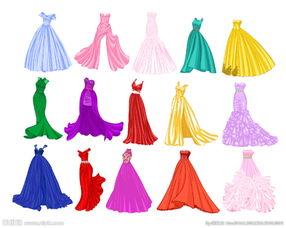 公主礼服设计图片