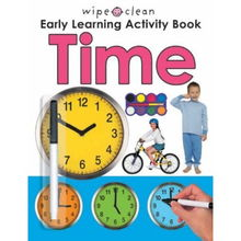 Wipe Clean Early Learning Activity Time Wipe Clean Early Learning ...