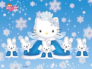 HelloKitty卡通猫壁纸
