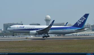 厦门机场的较大飞机