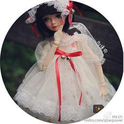 韵味十足 美女玩家手工制作夜溪灵娃娃